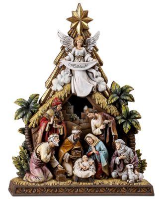 Angel Nativity Scene