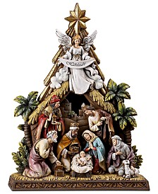 Napco Angel Nativity Scene