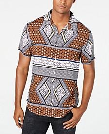 Men's Rogan Geo-Print Shirt