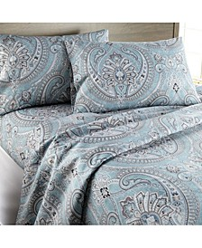 Classic Paisley Ultra-Soft 4-Piece Sheet Set