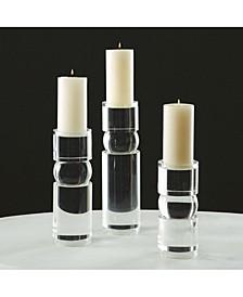 Bipolar Crystal Candleholder Small