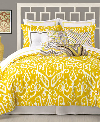 Closeout Trina Turk Ikat Comforter And Duvet Cover Sets