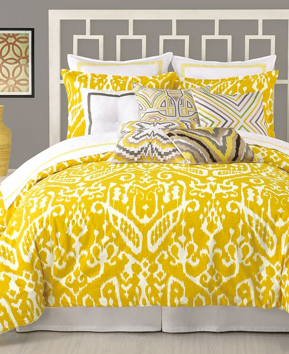 Trina Turk CLOSEOUT! Ikat Comforter and Duvet Cover Sets
