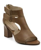 6f2c27267d9 Adrienne Vittadini Rea Block Heel Sandals