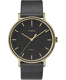 Timex Fairfield Collection Leather Strap Watch