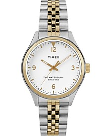 Timex Waterbury Traditional 34mm Stainless Steel Two-Tone Bracelet Watch