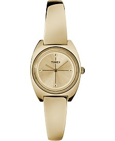 Timex Milano Semi-Bangle 24mm Bracelet Watch