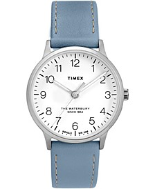 Timex Waterbury Classic 36mm Leather Strap Watch