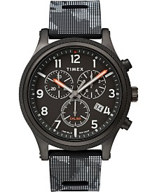 Timex Allied Lt Chronograph 42mm Silicone Strap Watch