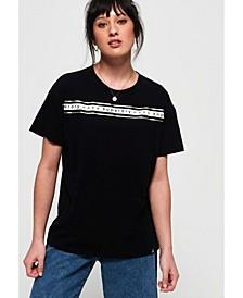 Minimal Logo Tape Oversized Portland T-Shirt