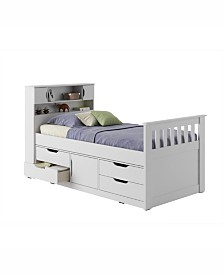 CorLiving Madison Twin/Single Captain's Bed