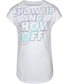 Little Girls Show Up & Show Off Logo T-Shirt
