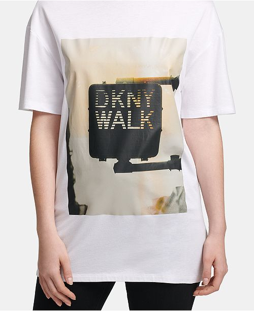 DKNY Graphic-Print T-Shirt