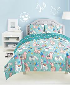 Dream Factory Llama Rama 2-Pc. Twin Comforter Set