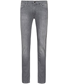 Men's Light-Wash Slim Jeans