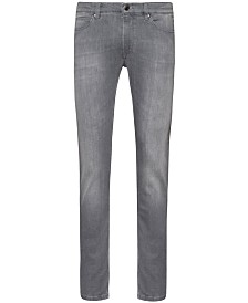 Hugo Boss Men's Light-Wash Slim Jeans