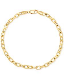 Italian Gold Forzatina Link Bracelet in 14k Gold