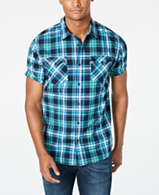Levi's® Men's Dual Pocket Plaid Shirt