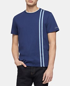 Calvin Klein Men's Vertical Stripe T-Shirt