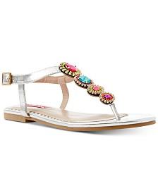 Betsey Johnson Glow Sandals