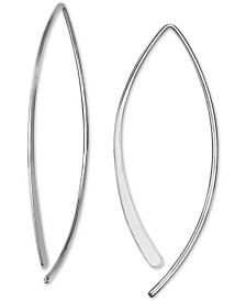 Giani Bernini Threader Earrings in Sterling Silver, Created for Macy's