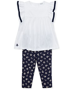 241005aa Polo Ralph Lauren Baby Girl Clothes - Macy's