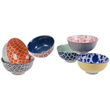 Certified International Soho Bowls Set of 6