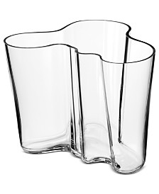 Iittala Vase, Clear Aalto Vase Large