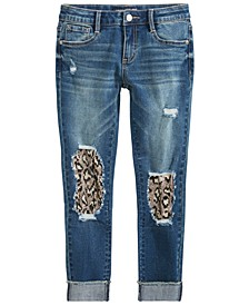 Big Girls Distressed Denim Jeans