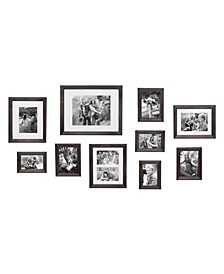 Bordeaux Gallery Wall Wood Picture Frame Set, Set of 10