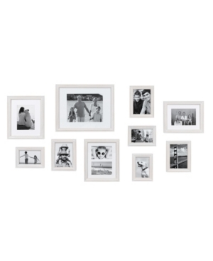 Kate and Laurel Bordeaux Gallery Wall Wood Picture Frame Set