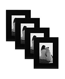 DesignOvation Museum Wood Picture Frame, Set of 4