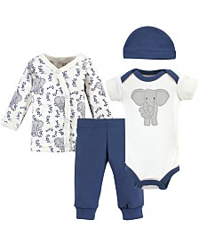 Touched by Nature Organic Preemie Layette Set, 4 Piece Set