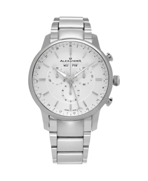 Image of Alexander Watch A101B-01, Stainless Steel Case on Stainless Steel Bracelet