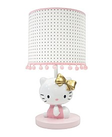 Lambs & Ivy Hello Kitty Nursery Lamp with Shade & Bulb
