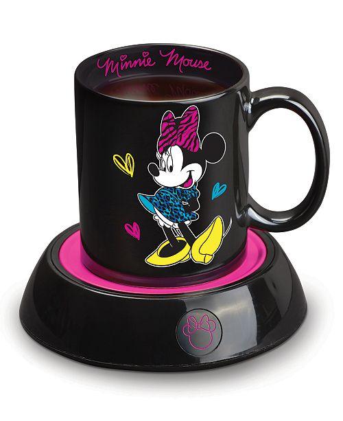 Disney Minnie Mouse Mug Warmer with 10 Ounce Mug