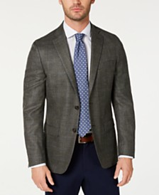 Lauren Ralph Lauren Men's Classic-Fit UltraFlex Stretch Windowpane Sport Coat