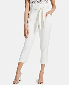 GUESS Knoxlee Cropped Paperbag Pants
