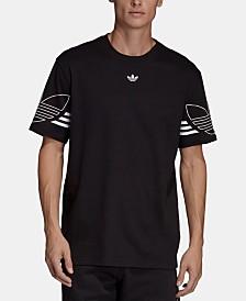 adidas Men's Originals Outline-Logo T-Shirt