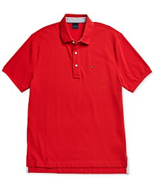 Tommy Hilfiger Adaptive Men's Ivy Polo Shirt with Magnetic Closures