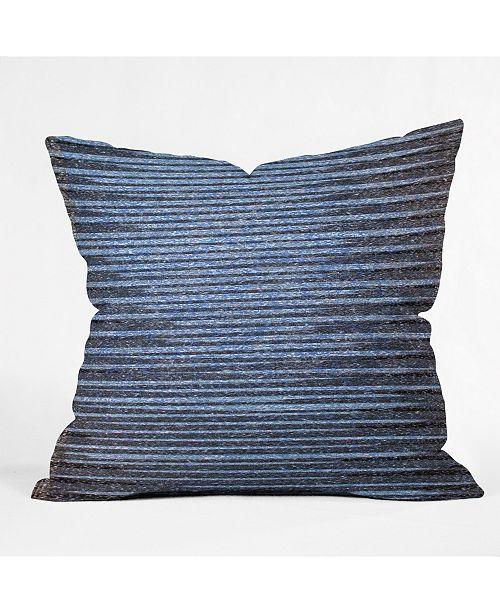 Deny Designs Triangle Footprint Li2 Throw Pillow