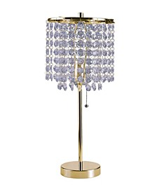 """20.25""""H Deco Glam Table Lamp"""