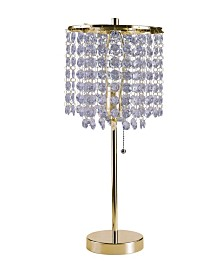 "20.25""H Deco Glam Table Lamp"