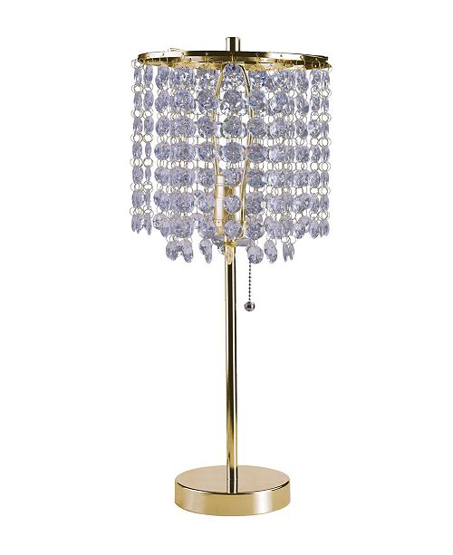20 25h Deco Glam Table Lamp