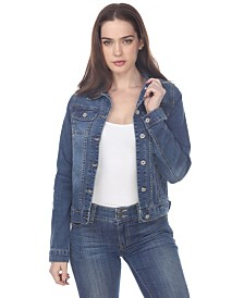 White Mark Women's Denim Jacket