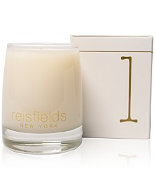 Reisfields NYC Hand-Poured Signature Collection Luxury Candle No. 1, 10-oz.