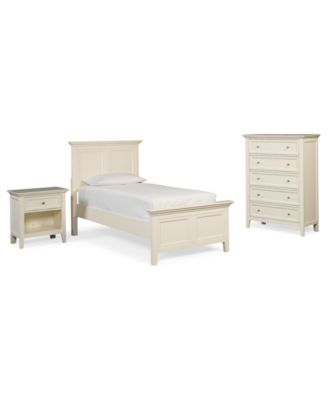 Sanibel 3 Piece Twin Bedroom Set, Created For Macyu0027s, With Chest