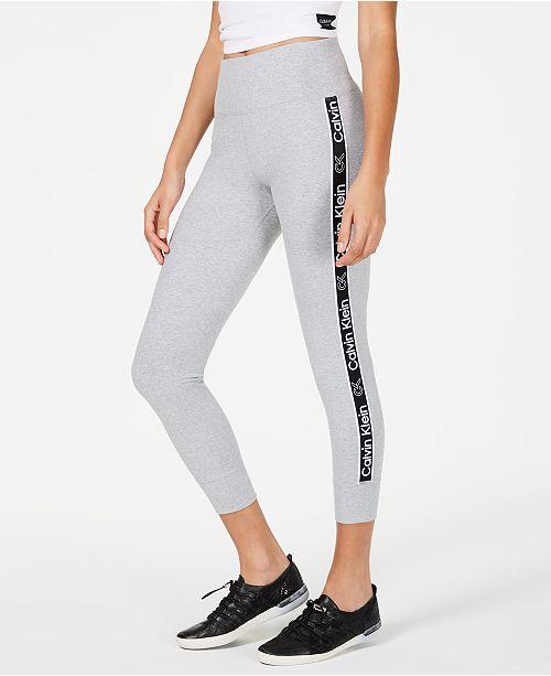 Calvin Klein Logo High-Rise Leggings