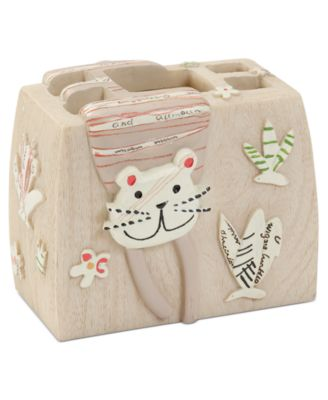 Accessories, Animal Crackers Toothbrush Holder