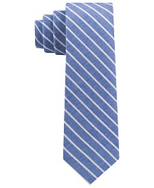 Tommy Hilfiger Toddler, Little & Big Boys Chambray Stripe Tie